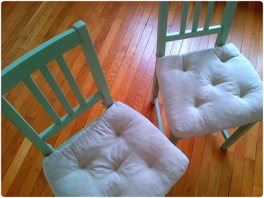 DIY vieille chaise