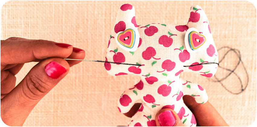 DIY customiser un doudou