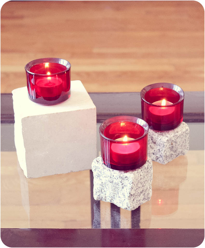 DIY dessous bougies 1