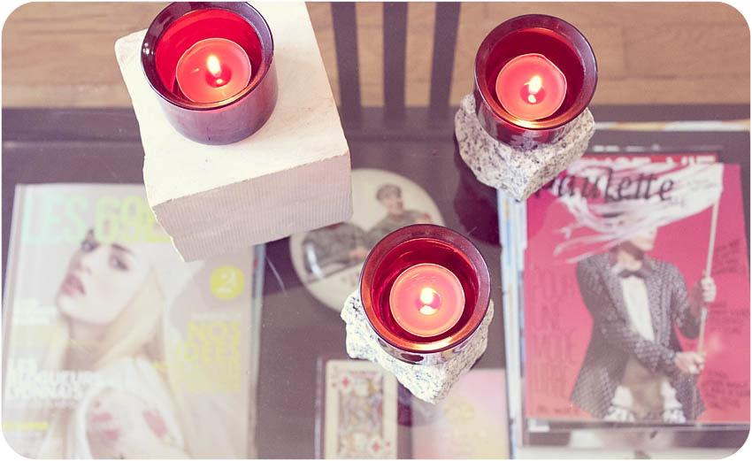 DIY dessous bougies artlex