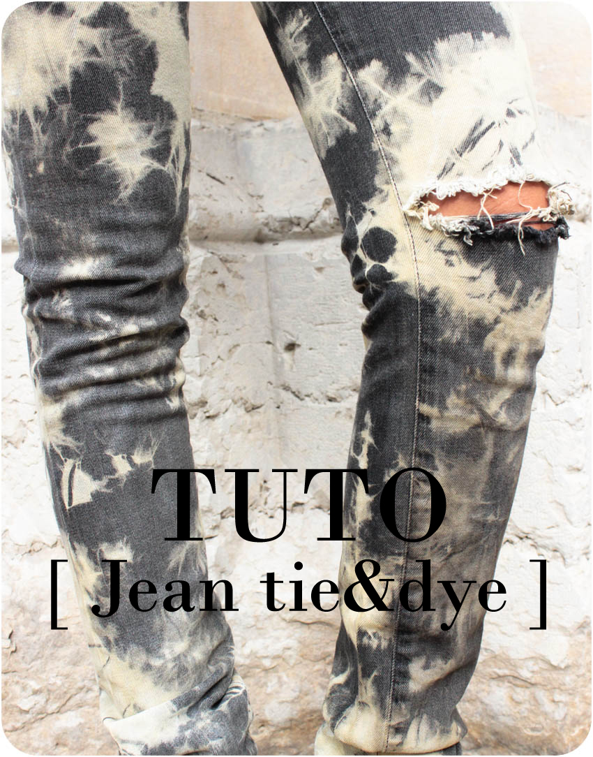 artlex-blog DIY Mode Lyon Jean tie-&-dye