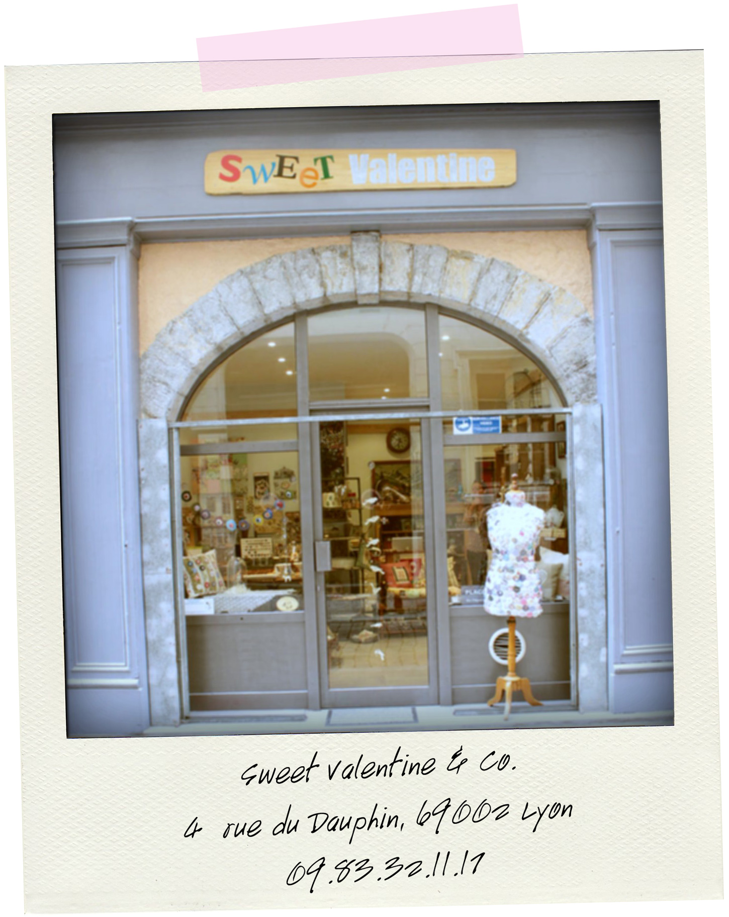 boutique sweet valentine Lyon 6