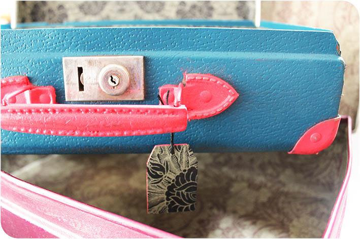 DIY valise vintage artlex blogueuse DIY Lyon