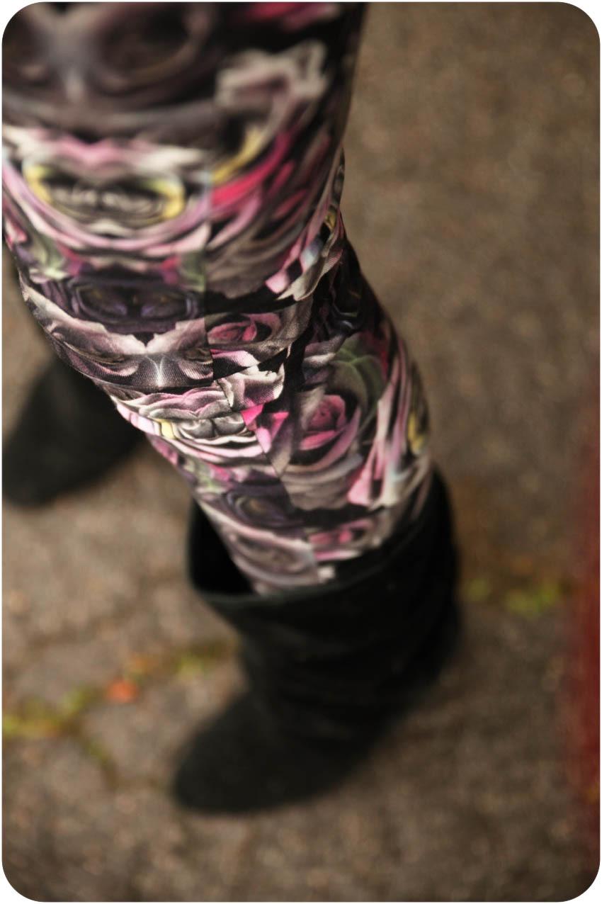 Pantalon fleur