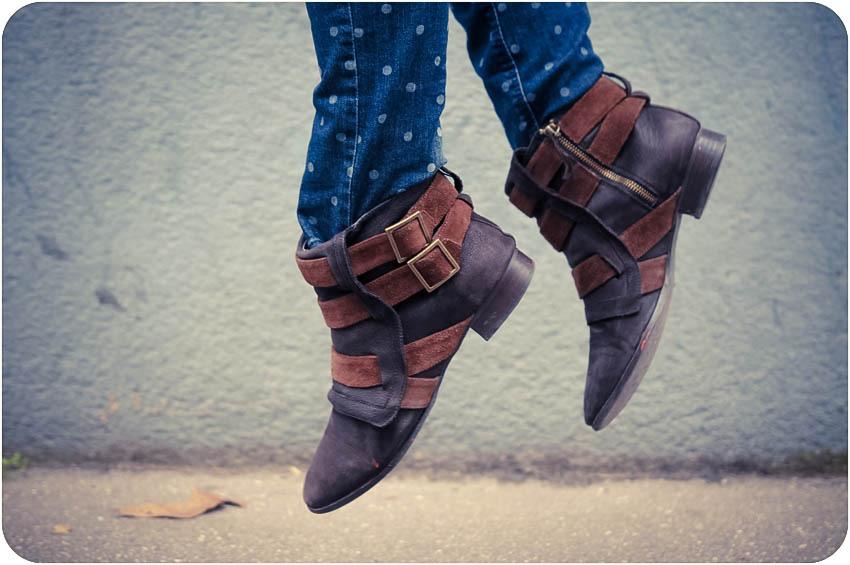 Boots western zara