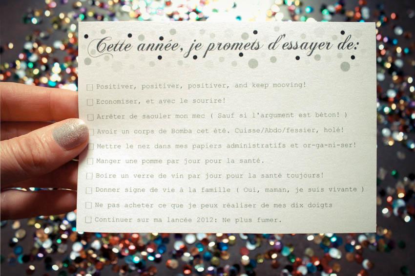 DIY imprime tes cartes de voeux