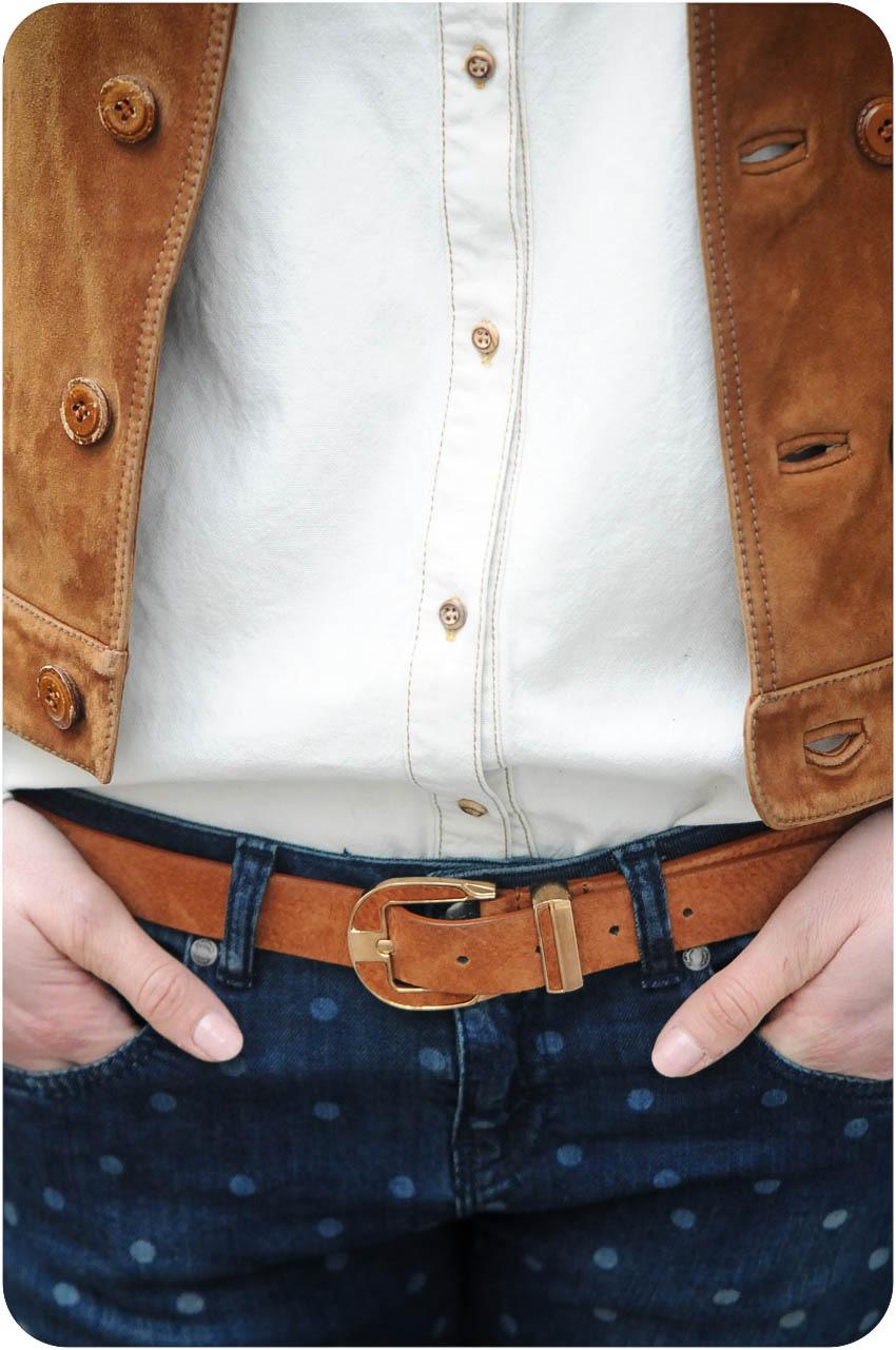 chemise jeans