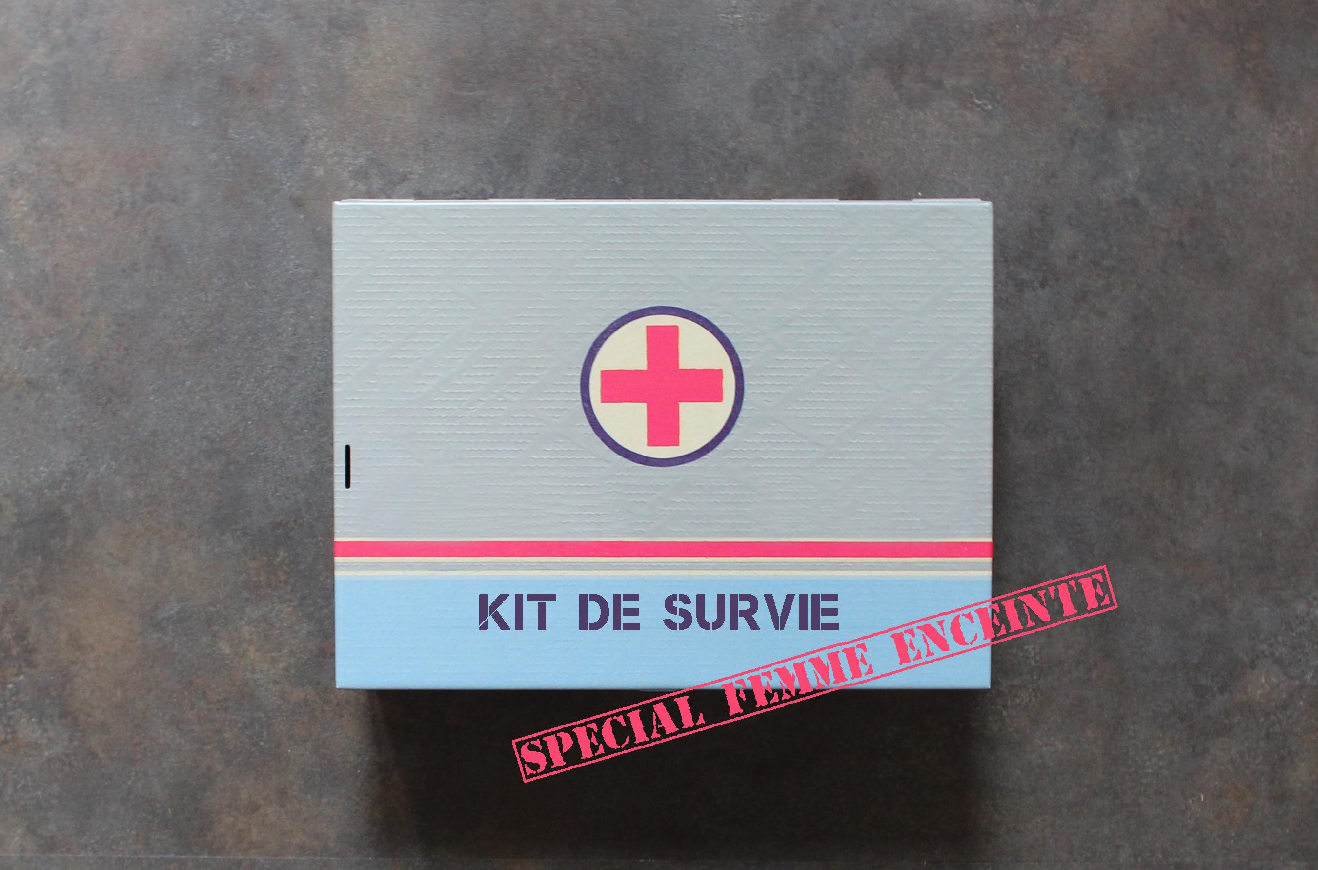 necessaire spécial future maman kit de survie maternité
