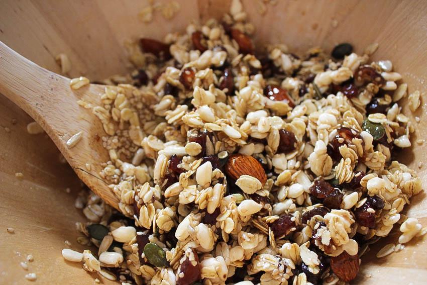 recettes granola céréales