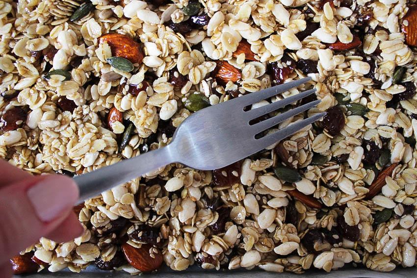 faire des barre de céréales maison