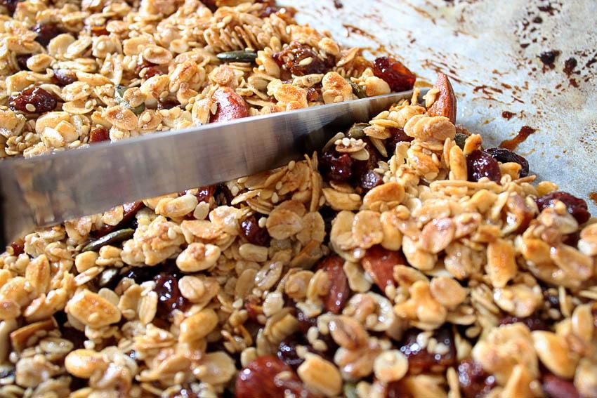 DIY granola maison