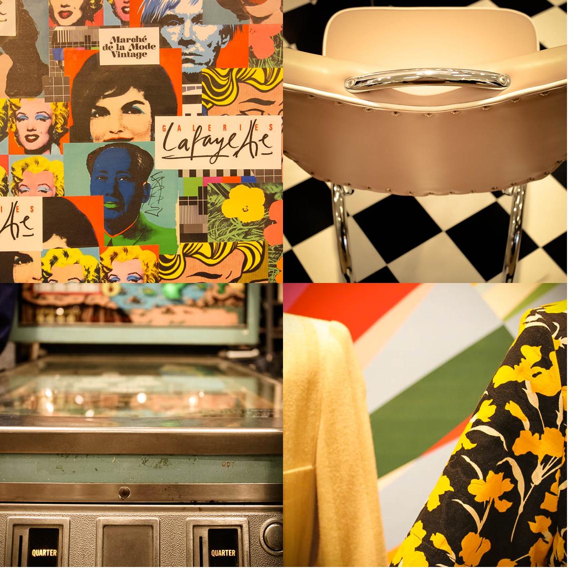 marché de ma mode vintage x galeries Lafayette