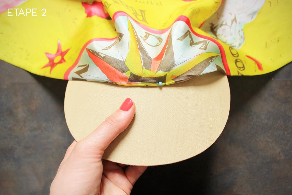 DIY casquette Kenzo 4