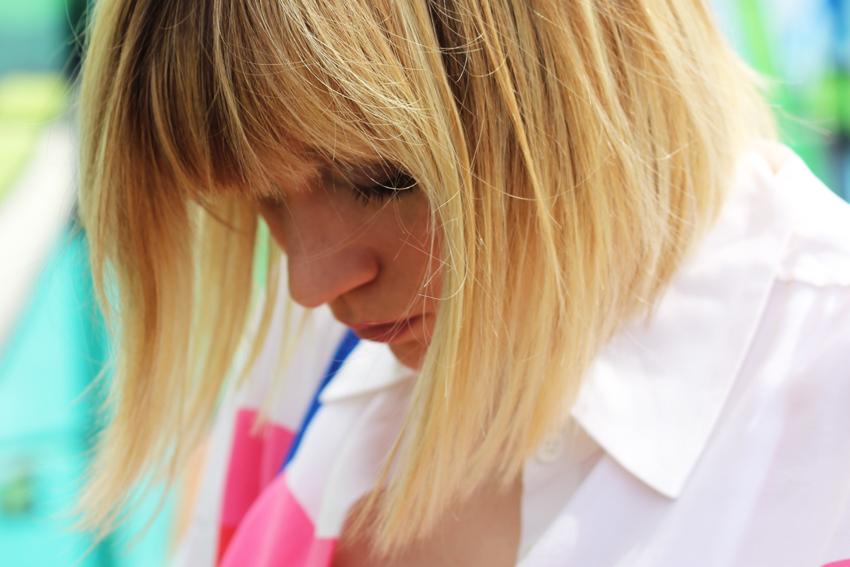 coupe au carré cheveux blond