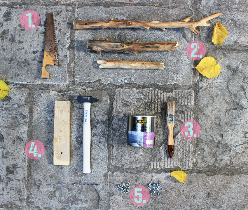 DIY porte bijoux ecolo