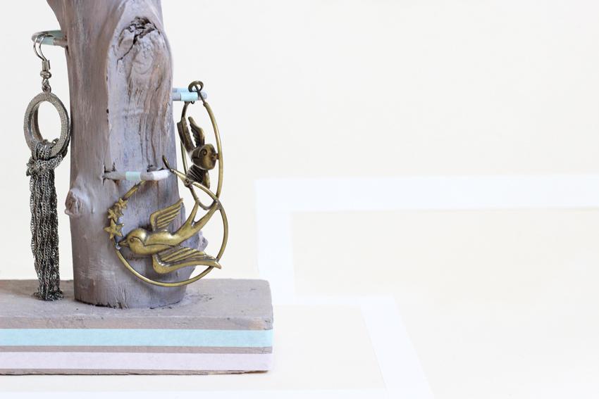 DIY masking-tape porte bijoux ecolo