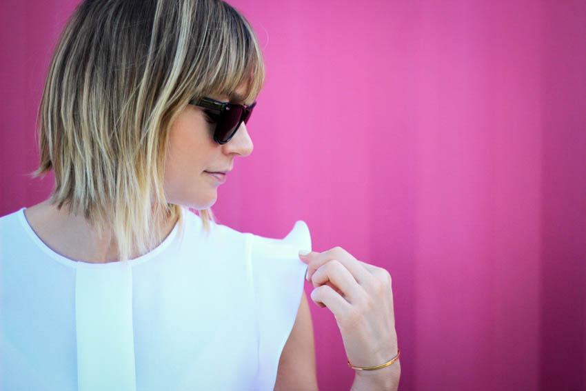 top blanc Zara