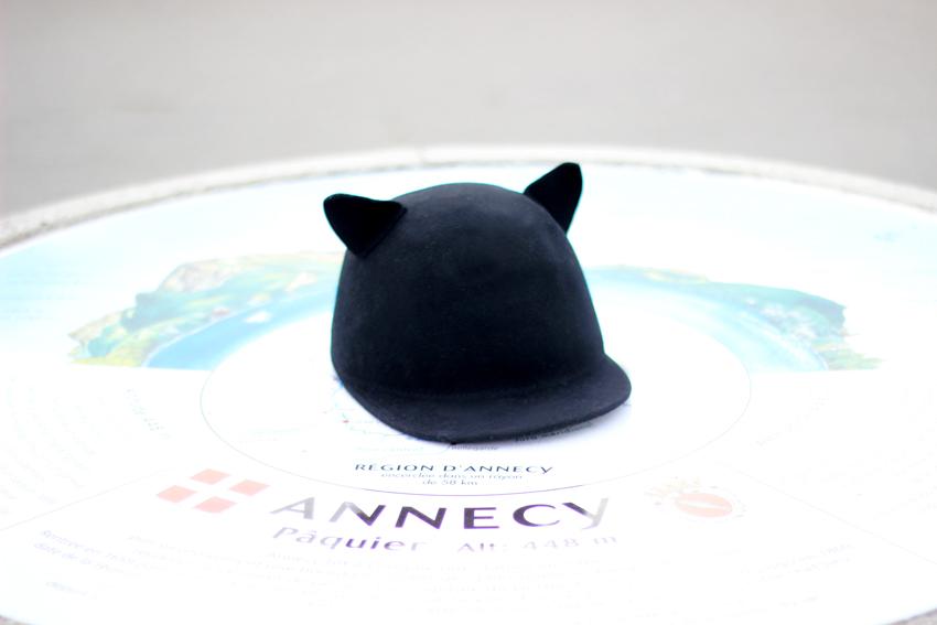 Casquette oreilles chat