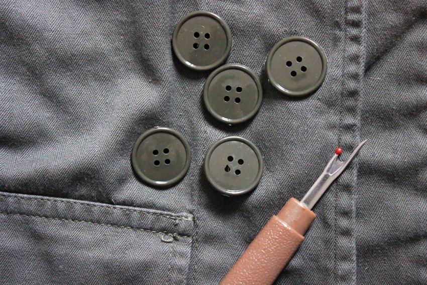 découdre des boutons