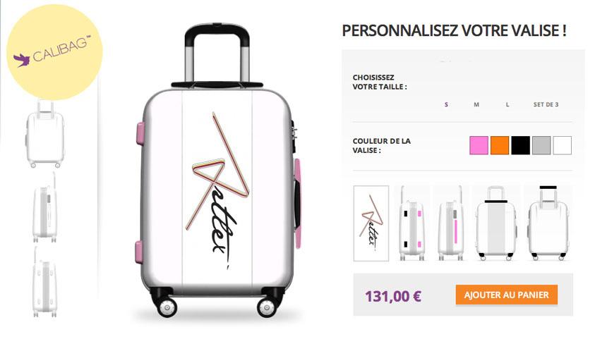 valise personnalisée Calibag