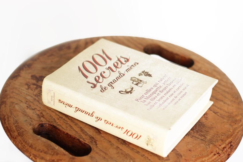 livre 1001 secrets de grands-mères