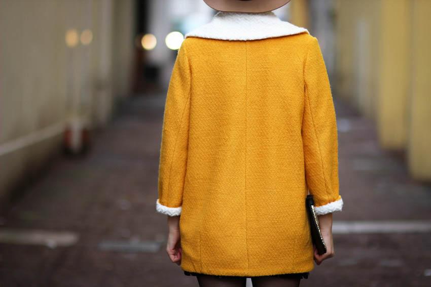 manteau jaune artlex blog