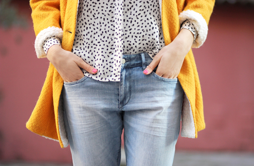 Boyfriend jean et chemise H&M Artlex