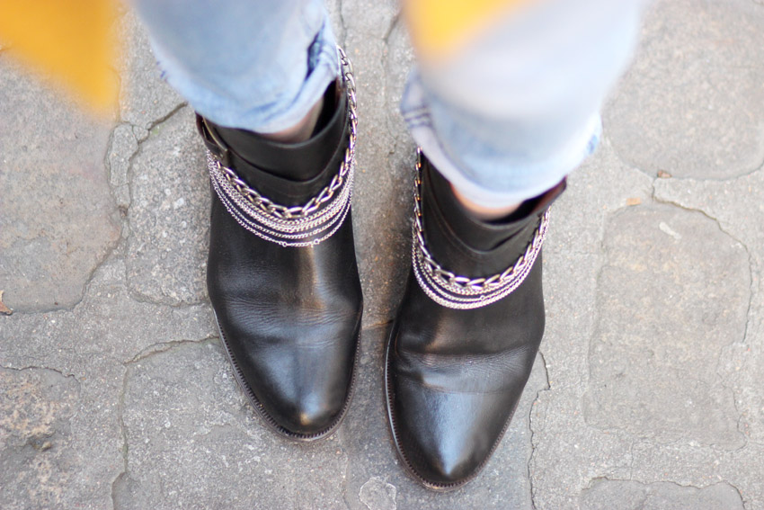 DIY chaussures chaines