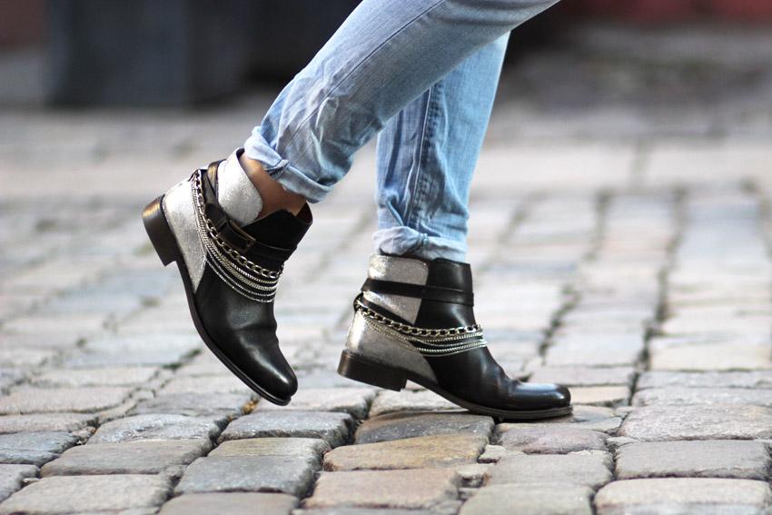 DIY chaussures paillettes