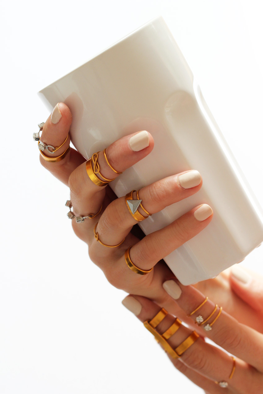 Blog mode DIY Artlex midi rings
