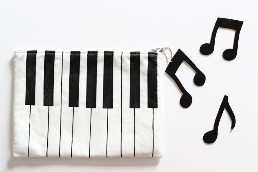 DIY pochette piano artlex