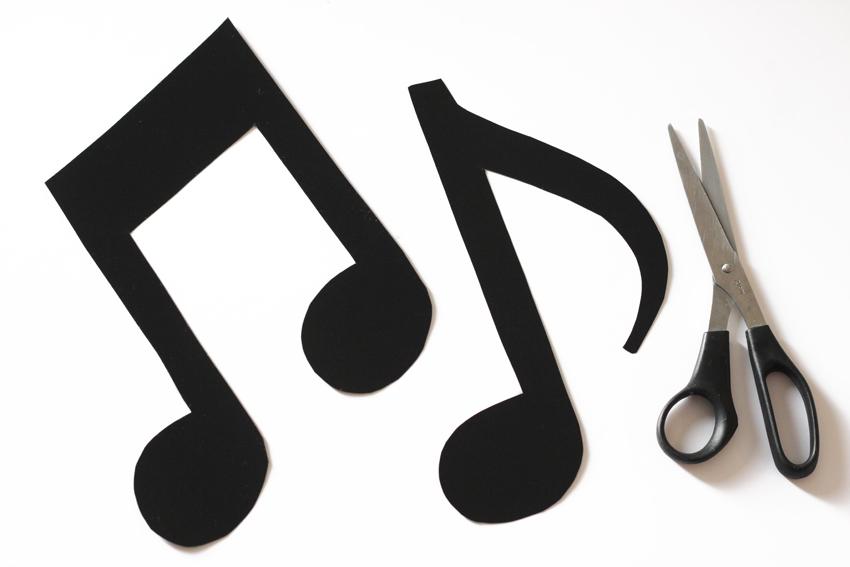 faire ses notes de musiques