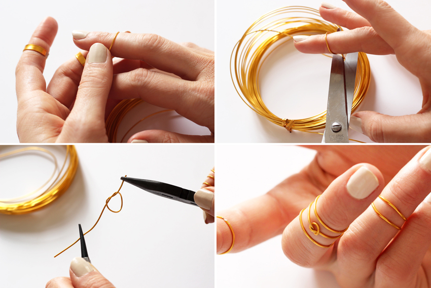 faire une bague noeud
