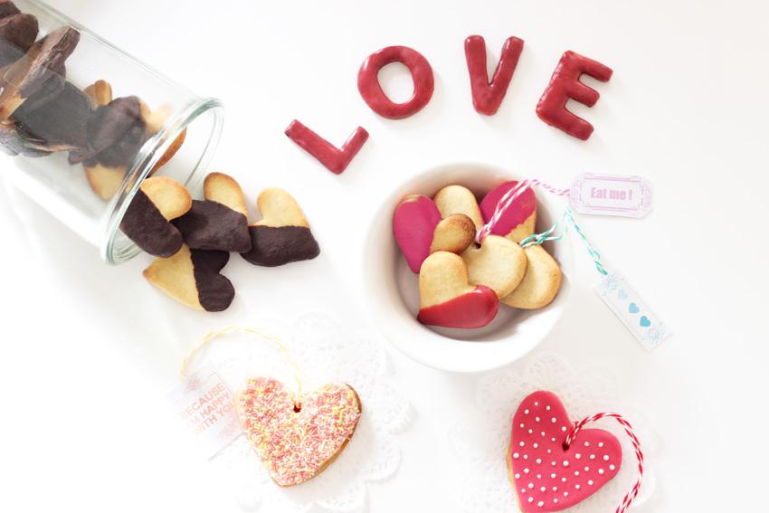 recette sucrée saint valentin