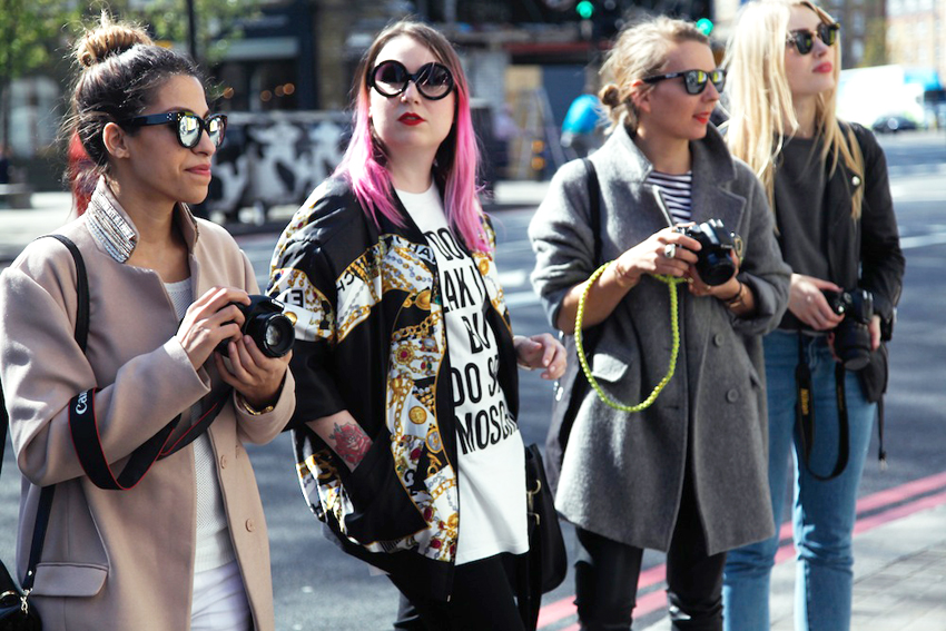 french fashion bloggers in London