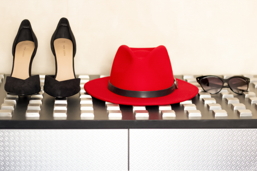 Chapeau traveller rouge