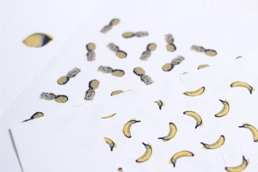 Imprimé banane