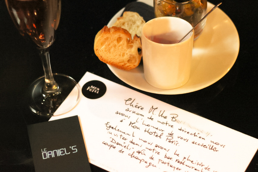 invitation blogueur Mon hotel Paris