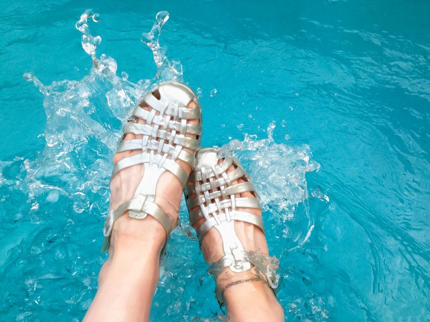 sandales méduse