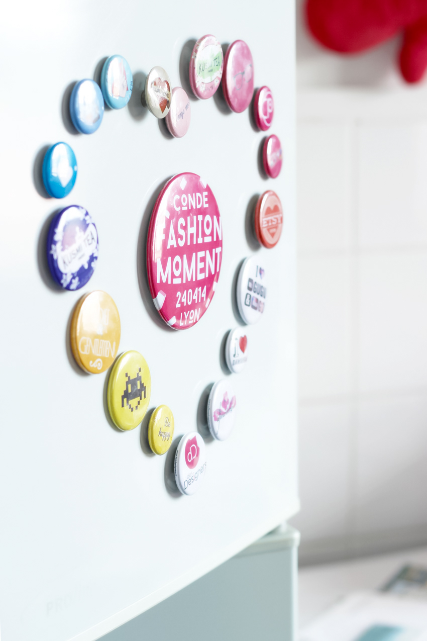 Magnets DIY badges