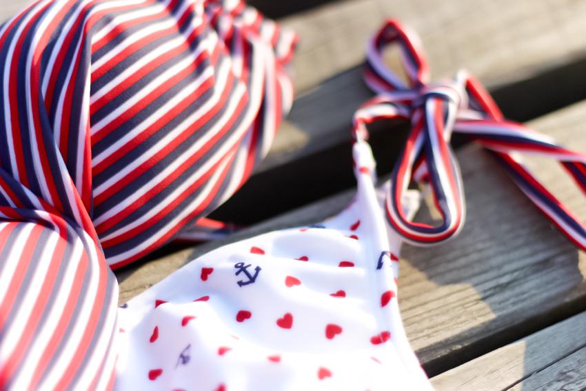 maillot de bain imprimé marin