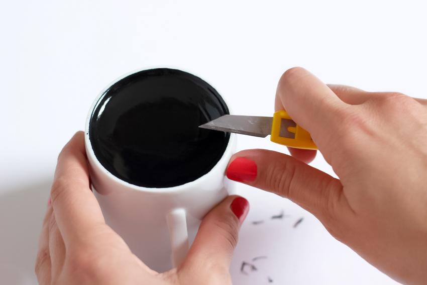 diy mug happy mood or not blog diy mode artlex. Black Bedroom Furniture Sets. Home Design Ideas