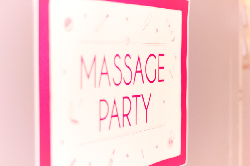 massage party