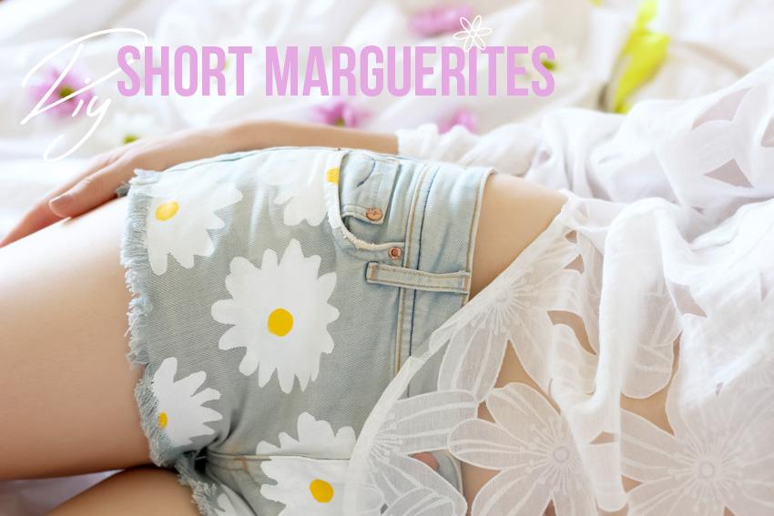 DIY short marguerite