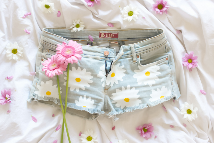 Daisy short DIY