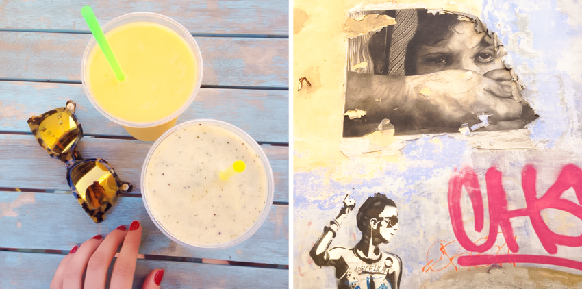smoothie grafittis