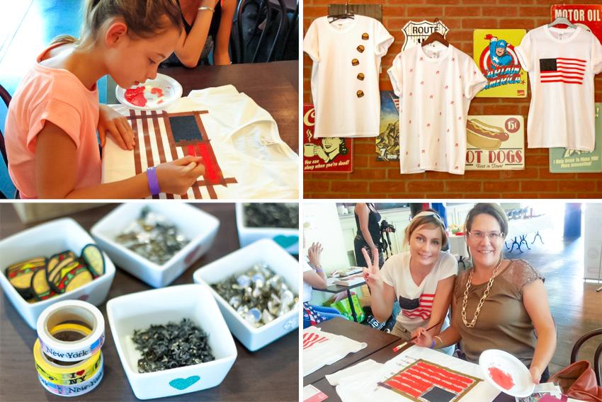Atelier diy tee shirt ricain artlex x salon usa blog for Salon du diy lyon