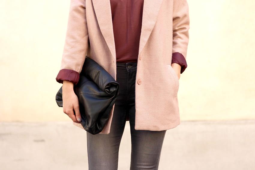sac cuir zara manteau vero moda lit de vin