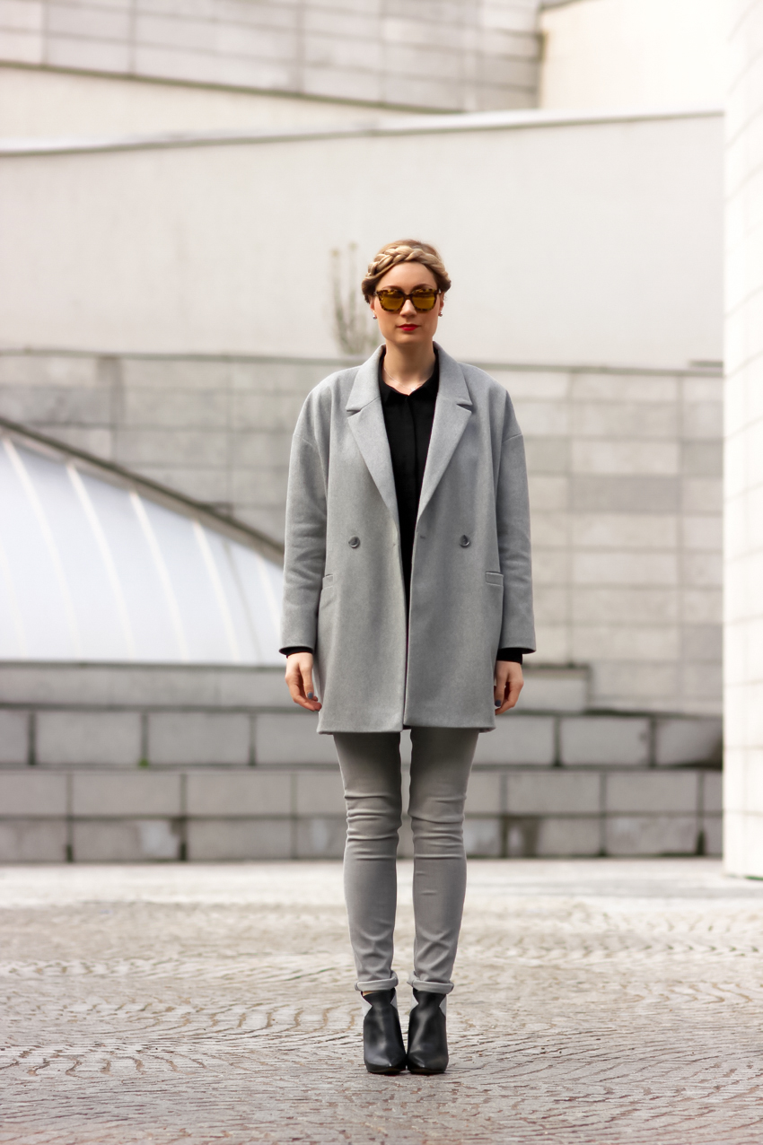 blog mode lyon Artlex street look manteau gris