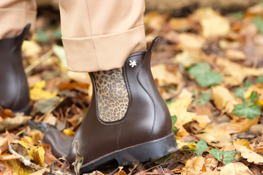 boots léopard Meduse